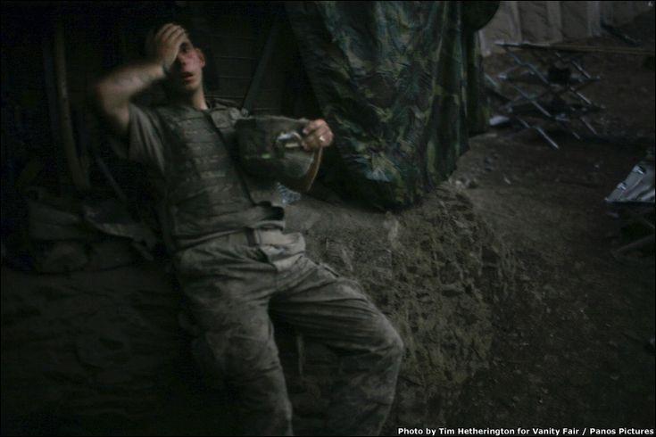 Fotografía de Tim Hetherington, ganadora del Word Press Photo 2007