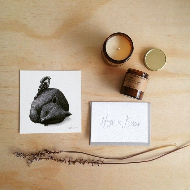 H U G S // We are loaded with great gift ideas. Chose your gift, pick your card and we'll wrap it up and send it to one very lucky person!! Shop www.tleafcollections.com.au #giftideas #handpouredsoycandles #soycandles #madeincalifornia #california #pfcandleco #letterpresscards #cards #australianprints #wombat #illustrations #wallart #prints #designinspo #interior #interiordesign #mothersday #mothersdaygiftideas #tleafcollections #reneetreml #birdsofafeatherco