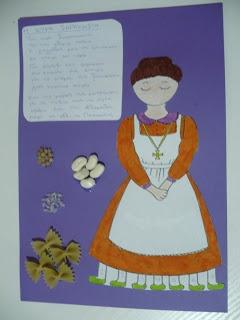 Maro's kindergarten: Η κυρα-Σαρακοστή ατομική κατασκευή & ποίημα