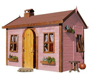 Casetta in legno per bambini ALDEA