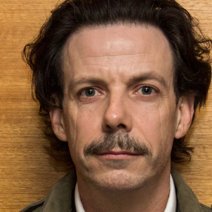 Actor Noah Taylor is back in his hometown of Melbourne showing his artwork there for the first time.