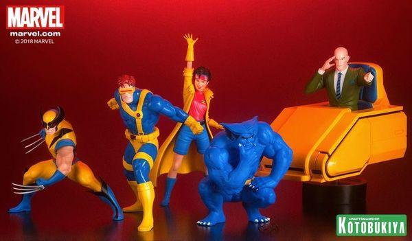X Men 92 Professor X With Hoverchair Artfx Statues From Kotobukiya Marvel Professor X X Men Men
