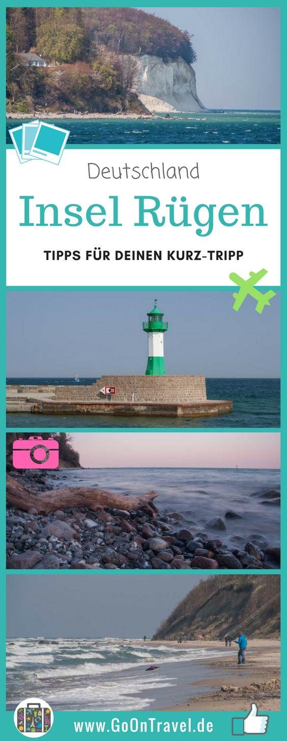 Rügen gehört mit zu beliebtesten Inseln in der deutschen Ostsee. Wer über ein verlängertes Wochenende, in welches ein Feiertag eingeschlossen ist, nach Rügen reisen möchte, sollte sich damit arrangieren, dass die Insel etwas überlaufen sein kann.  #Deutschland #Rügen #InselRügen #Ostsee #Kurz-Trip