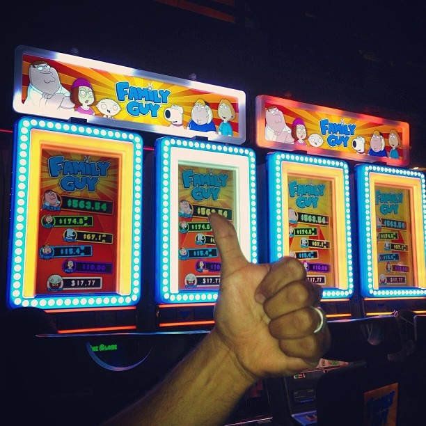 Family Guy Slot Machine Locations