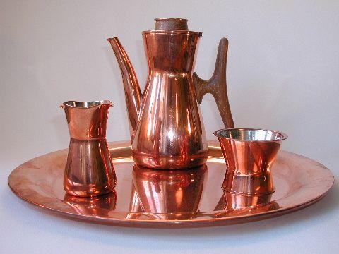 Tapio Wirkkala, Coffee set copper