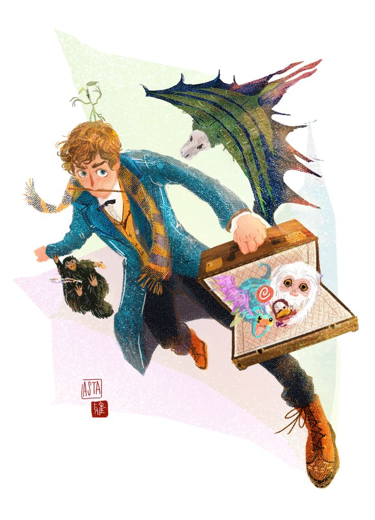 Fantastic beasts and where to find them.  Newt and his friends. He released a thunder bird then get the heart of another one.