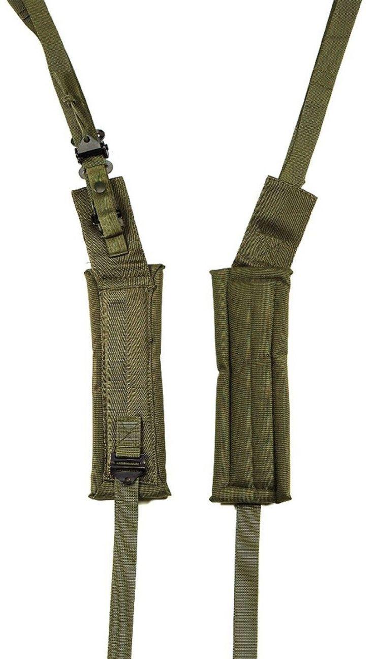 Military G.I. Type Olive Drab Enhanced ALICE Pack Padded Shoulder Straps