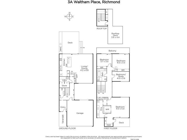 3A Waltham Place, Richmond, Vic 3121 - floorplan