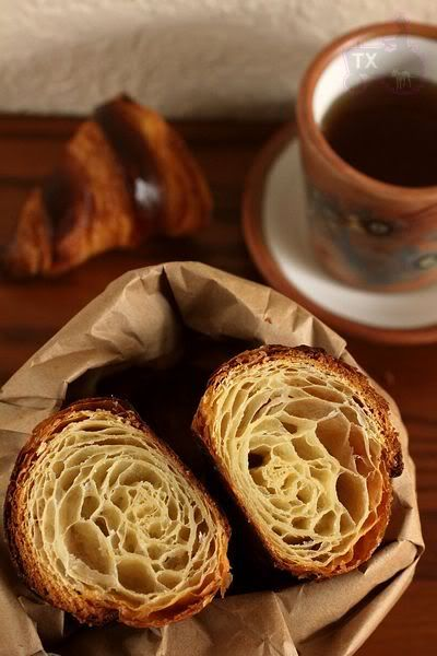 Croissant with Sourdough Starter. Sourdough is a fermented bread. Fermented and sprouted breads are much easier for the body to process. If you are going to eat breads these are the ones to favor.