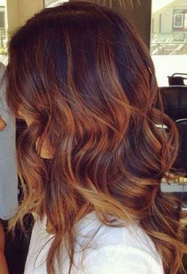 M s de 25 ideas incre bles sobre mechas con reflejos para for Color marmoleado para cabello