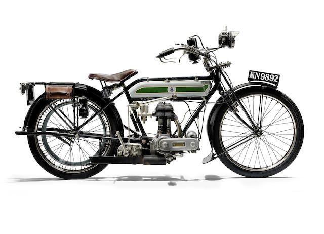 1920 Triumph 550cc Model H Frame no. 310353 Engine no