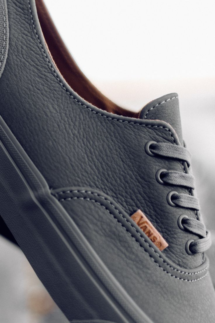 Vans CA Mono Leather Era Decon #Vans #VansCA #EraDEcon #Era #Skate