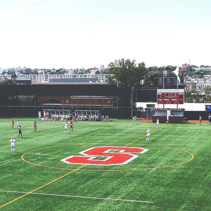 MiT vs Vassar women's soccer game at the Stevens Institute of Technology