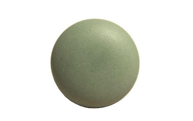 Matt knopp grön 4,5 cm