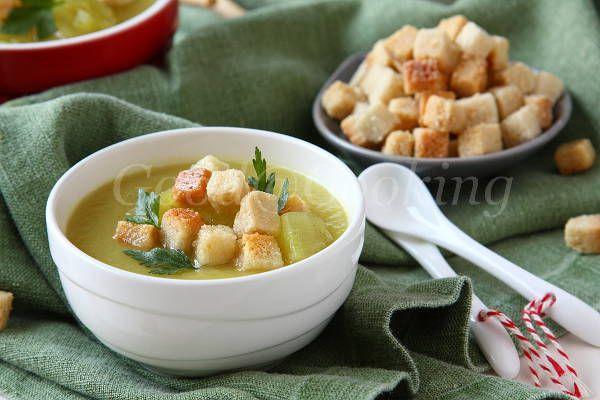 Суп-пюре из сладкого картофеля (батата)