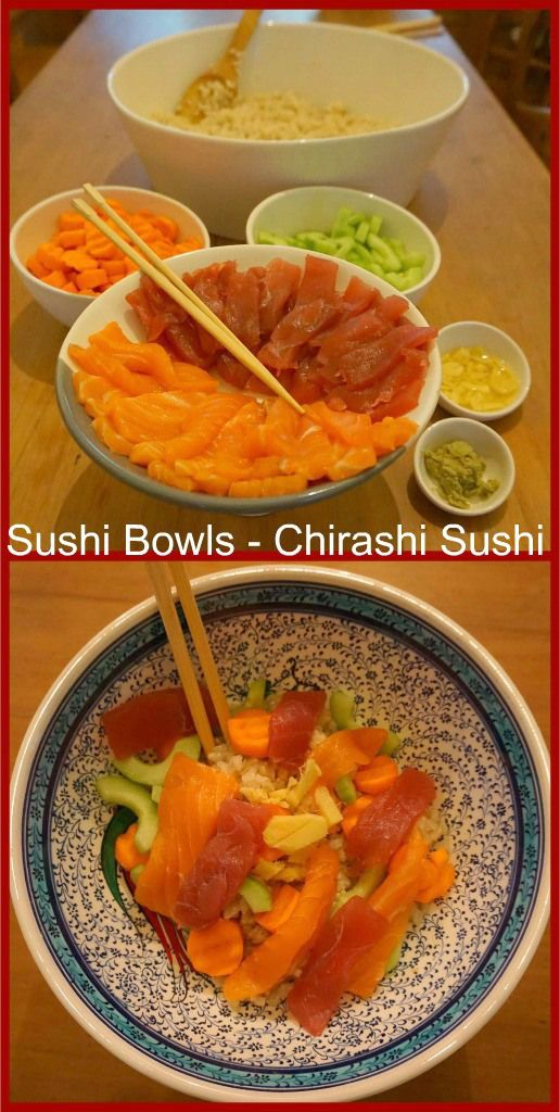 Sushi Bowls: The Perfect Meal? <~ I dunno I think I need the seaweed and the whole nine but I think I would try it love sushi after a good workout
