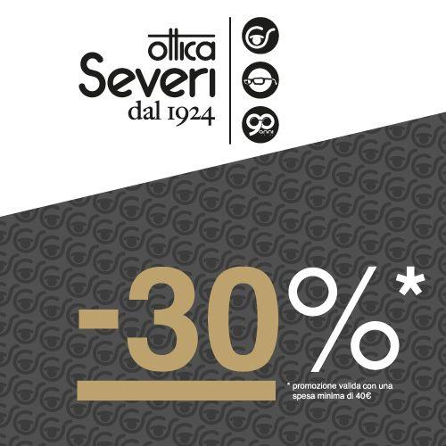 Promo -30% prorogata! #sconto #sconti 30% se spendi almeno 40€! #otticaseveridal1924 #nice #occhiali