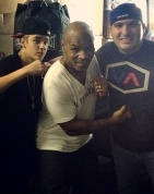 RockLive CEO, John Shahidi, hanging with Mike Tyson & Justin Bieber