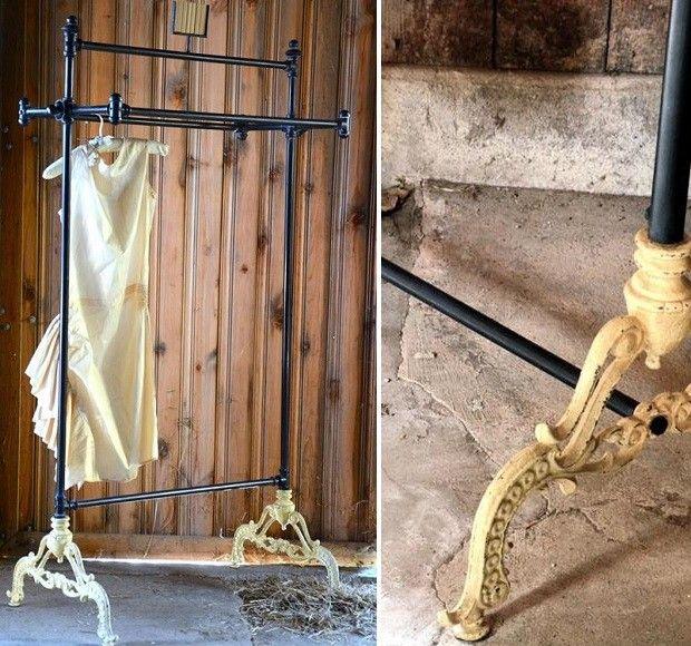 Vintage Clothing Rack | Clothier Rack