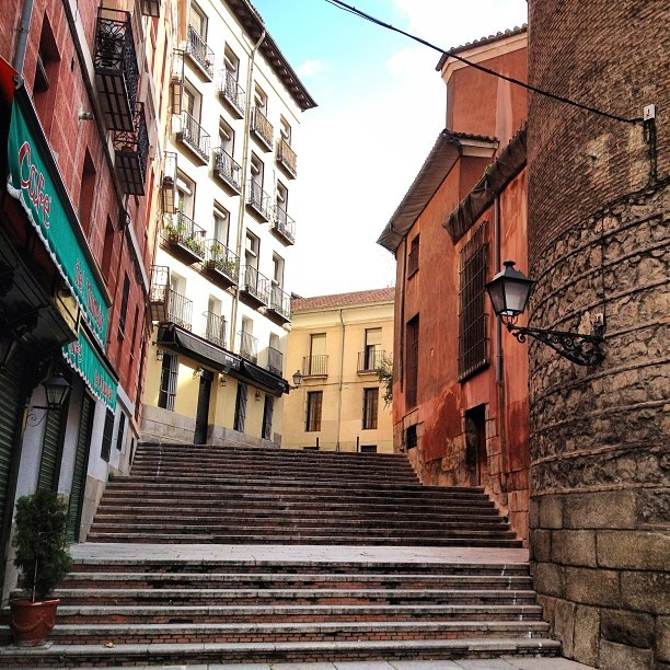 Улица Нунсио Мадрид