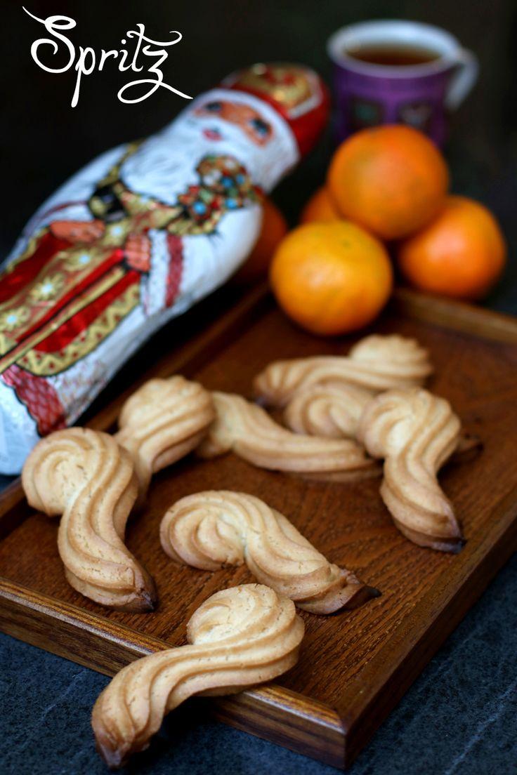 Recette des Spritz sans gluten de la St Nicolas ==> http://www.cookismo.fr/spritz-sans-gluten-lait-oeuf/35427