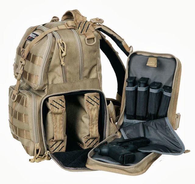 GPS Tactical Backpack - Handgun range bag