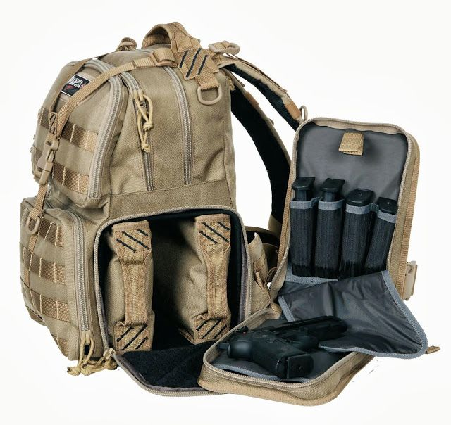 GPS Tactical Backpack - Handgun range bag