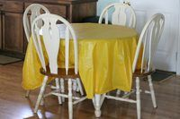 How to Take Wrinkles Out of a Plastic Tablecloth | eHow