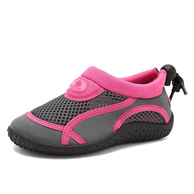 New Girl Toddler Water Shoes Size 9 Pink Sandals Clogs Slip On Summer Pool
