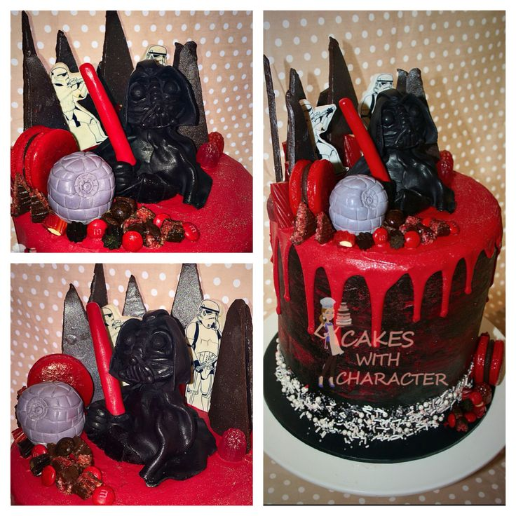 Red Star Cake