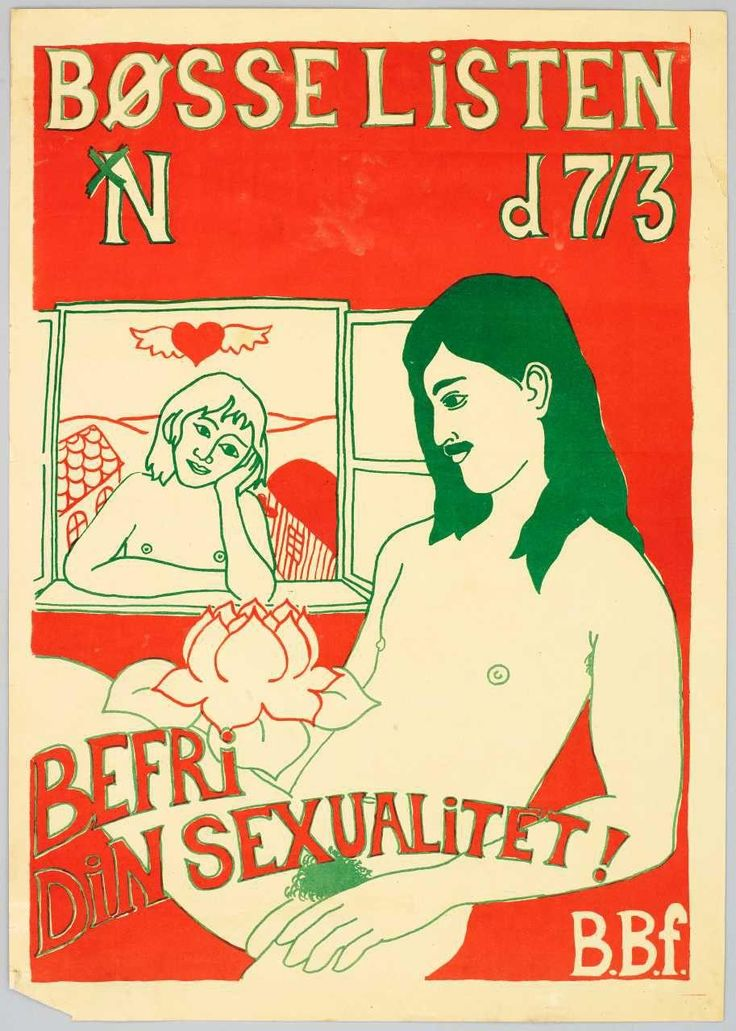 Valgplakat, Bøsselisten, 1978