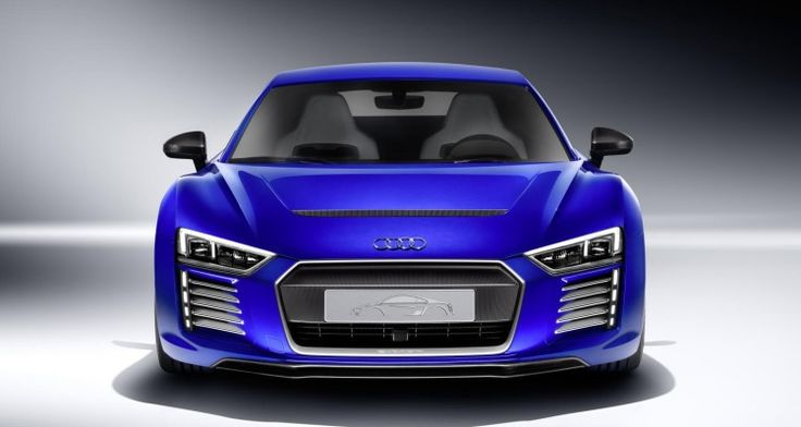 Audi R8 e-tron piloted driving concept unveiled