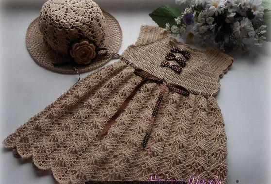 Платьице для девочки - Вязание спицами для детей