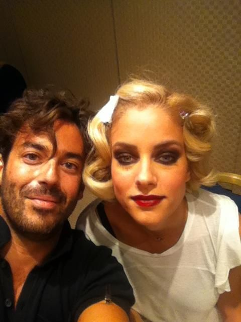 Doukissa Nomikou Hair + make up by Panos Kallitsis