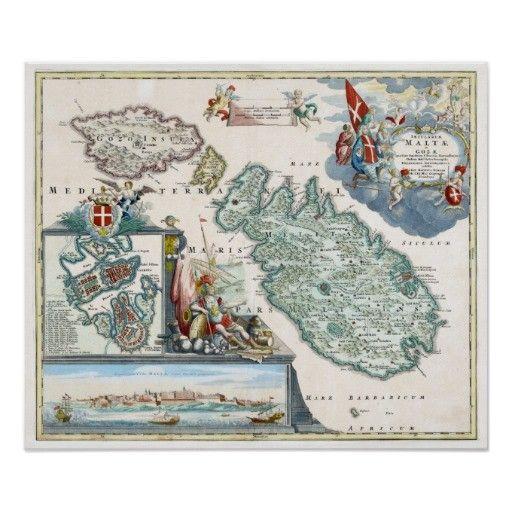 homann map of malta