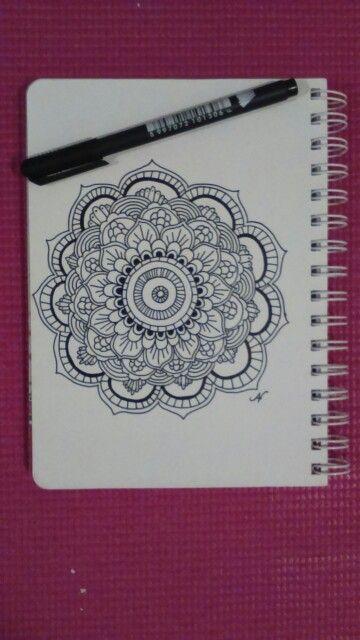 Mandala before