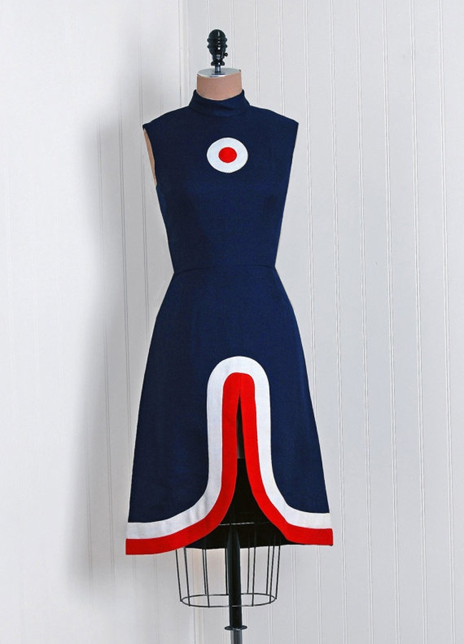 mod target dress