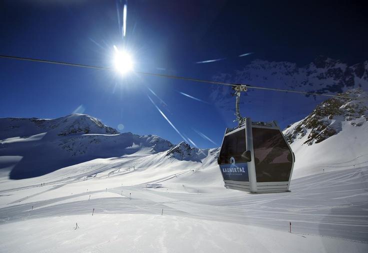 Kaunertal Gletscherbahn - Austria