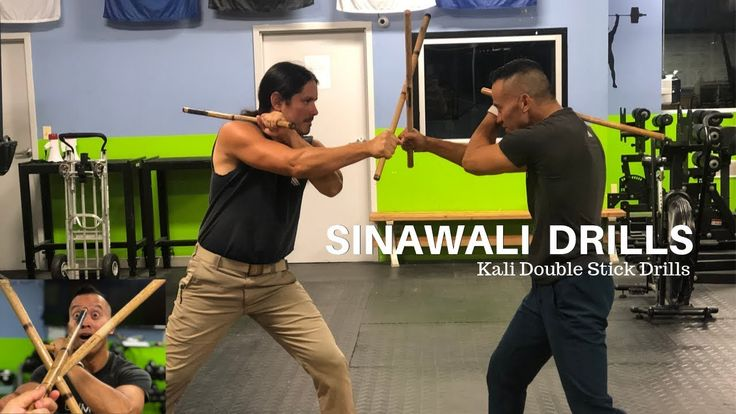 Filipino Fighting Style Double Stick Drills for