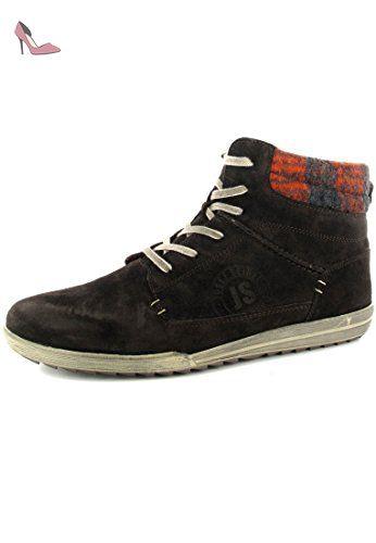 JOSEF sEIBEL fabienne femme - 21 boots marron chaussures en matelas grande taille - Marron - Marron, Taille 43