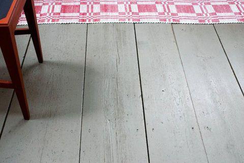 Måla trägolv med linoljefärg - så gör du