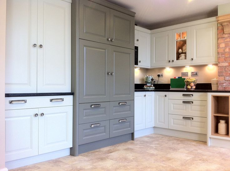 Dante Painted Olive & Soft Mint by Homestyle Kitchens in Wigan