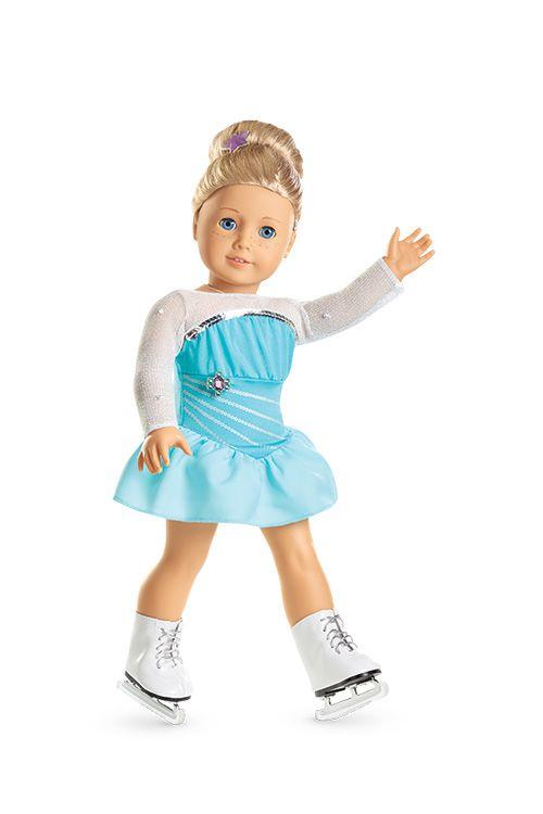 Sparkly Skating Set for Dolls