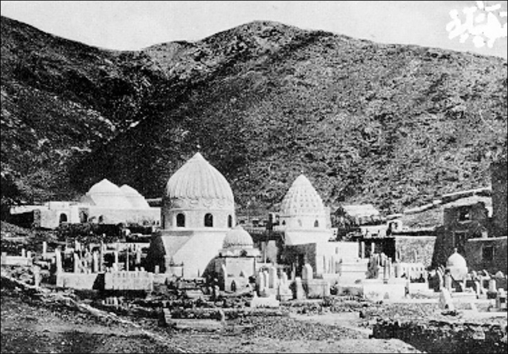Jannat ul Moala, before destructions – Makkah