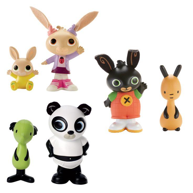 Bing Bunny Wobbly Figures - Assorted | Toys R Us Australia