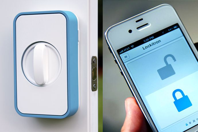 Make Your Home Smarter with Lockitron: Keyless Entry Using Your Smartphone