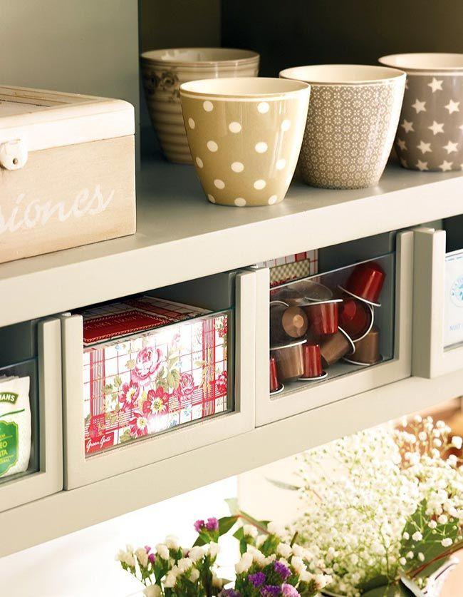 Гармоничный интерьер кухни, организация хранения на кухне