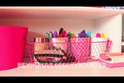 Cute desk organizer diy pinterest - Cute desk organizer ...