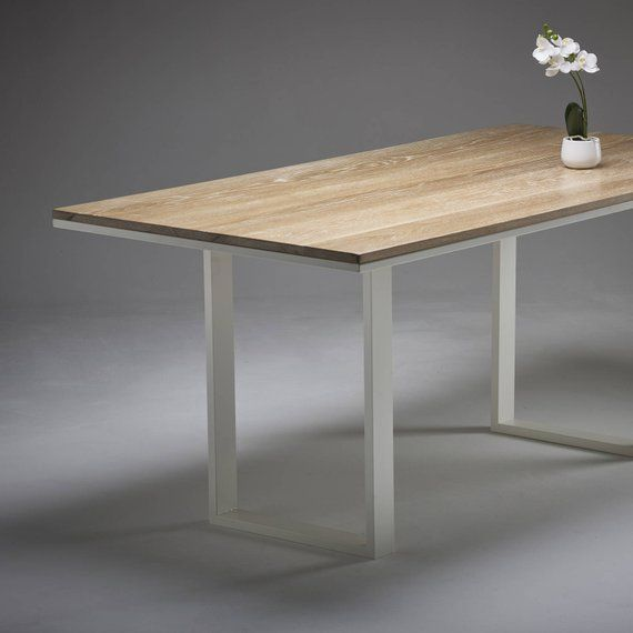 Whitewashed Oak Makes A Really Gorgeous Dining Table Its Light