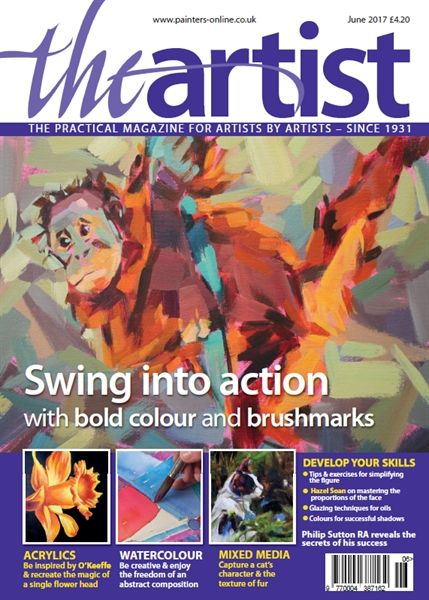 June 2017 The Artist. Buy online, http://www.painters-online.co.uk/
